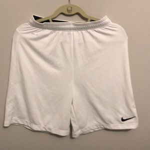 Nike dri fit soccer volleyball shorts xl white
